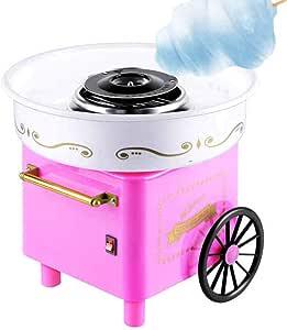 MNSSRN Algodón de azúcar Máquina de los niños, Simple, cómodo, rápido y Totalmente automático y Duradero, Mini portátil de Salud y Seguridad Eléctrica máquina de algodón: Amazon.es