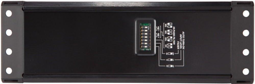 Kicker 42PXA3004 PXA Series 4 Channel Amplifier for Car Audio Speakers Black 150 Watts Bridged 75 Watts Per Channel