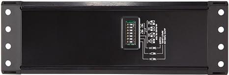 75 Watts Per Channel 150 Watts Bridged Kicker 42PXA3004 PXA Series 4 Channel Amplifier for Car Audio Speakers Black