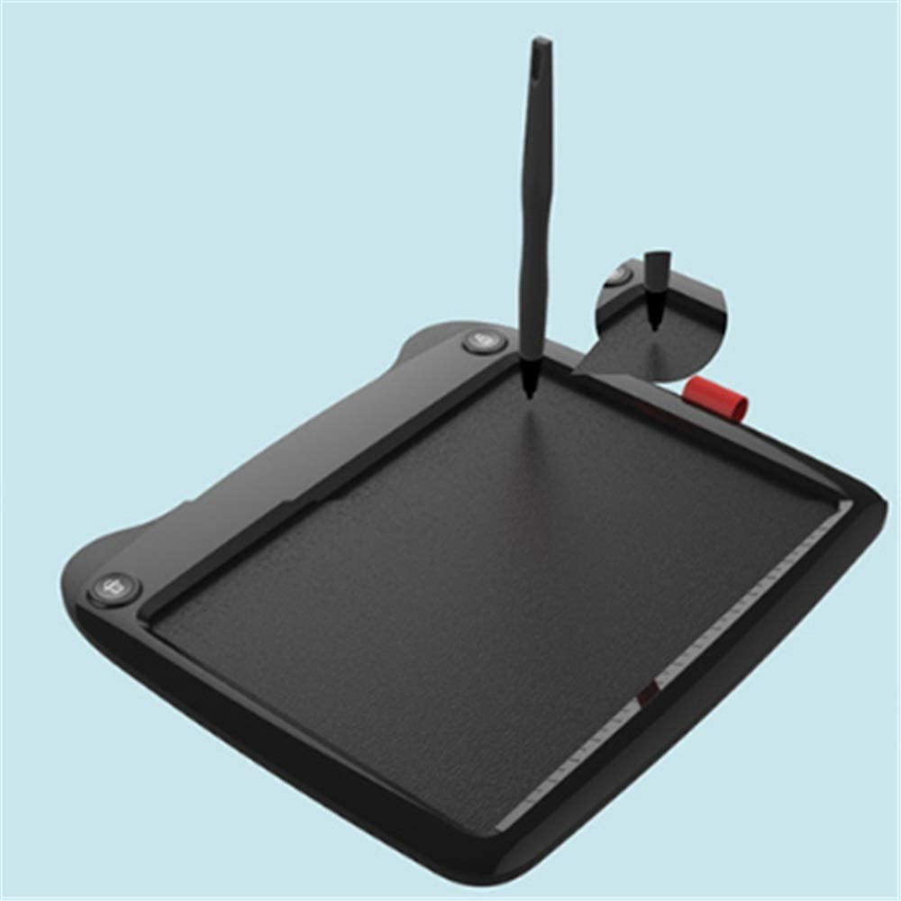 ADPTT-Office 9 Inches Cartoon LCD Electronic Tablet Childrens Drawing Board Writing Graffiti Blackboard Color : Black, Size : 9 inches