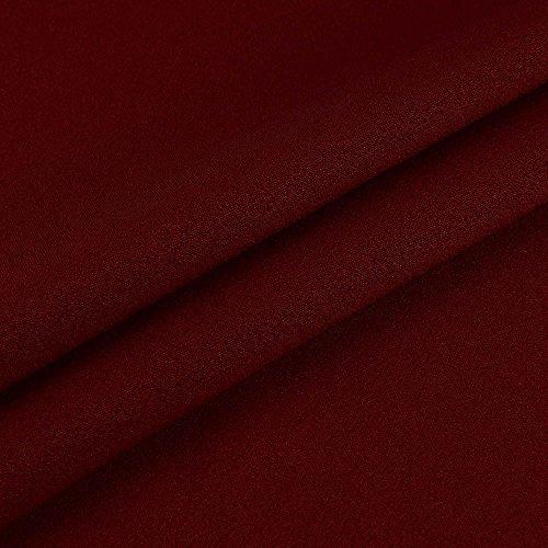 beach senza backless lungo abiti lunga party dress veste abito Weant maniche Chiffon vestito da vestito donna abito abiti sera elegante estate Rosso vestito gonna abito lunghi Cocktail donna U1nYva1