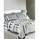 Riva Home Nantucket Bedspread (79 x 90.5 inch) (Grey)