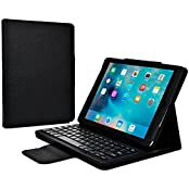 Cooper Cases(TM) CEO Keyboard Folio Case for Apple iPad Air 2 in Black (Magnetic Detachable US English QWERTY...