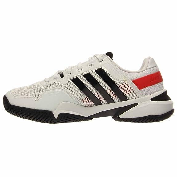 Adidas Bianco Uomini Adipower?Barricata 8 In Bianco Adidas / Nero 8ee405