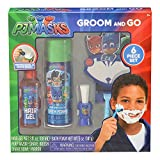 PJ Masks Limited Edition Holiday Special Groom & Go Play Shave Bath Set, 6 Pieces