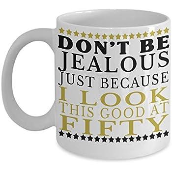 Amazon.com: GIFTS FOR MEN 50TH BIRTHDAY COFFEE MUG ~ with ...