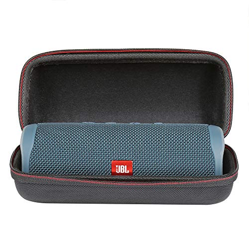 LuckyNV Travel beschermhoes voor JBL Flip 5 Wireless Bluetooth Speaker (Zwart)