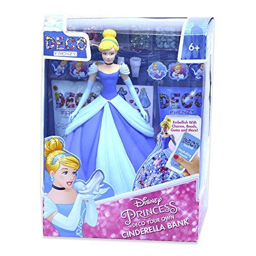 (Disney Princess-Cinderella Deco Frenzy Piggy Bank (Cife Spain)