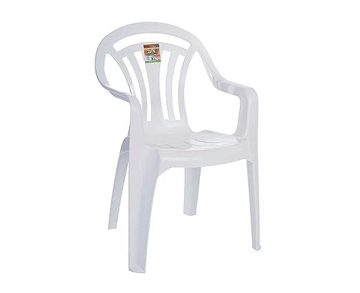 WHATMORE WHITE PLASTIC GARDEN CHAIR 11840. WHATMORE WHITE PLASTIC GARDEN CHAIR 11840  Amazon co uk  Kitchen