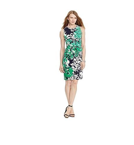 Lauren Ralph Lauren Women's Printed Sheath Dress
