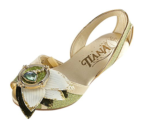 Disney Store Deluxe Tiana Costume Shoes Princess and the Frog Size 11 - 12