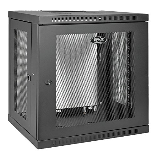Tripp Lite 12U Wall Mount Rack Enclosure Server Cabinet, 16.5