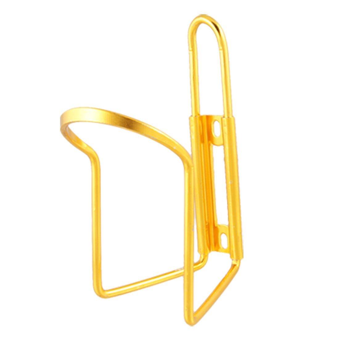 Tono de Oro de Como titular de la botella plateada aleación de aluminio de soporte para la bicicleta de la bici