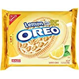Oreo Golden Sandwich Cookies, Lemon Crème, 15.25 Ounce