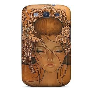 IanJoeyPatricia Samsung Galaxy S3 Bumper Hard Phone Cases Support Personal Customs Vivid Audrey Kawasaki Skin [tvB20407xCHL]