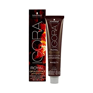 4c9e42da62 Amazon.com : Schwarzkopf Igora Royal Opulescence Permanent Color Creme 7-48 Medium  Blonde Beige Red : Beauty