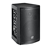 LD Systems MIX6AG2 Stinger 6.5-Inch Active PA Speaker with Integrated 4-Channel Mixer