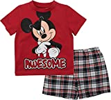 Mickey Mouse Boys Two Piece Short Set for Toddlers (18M)