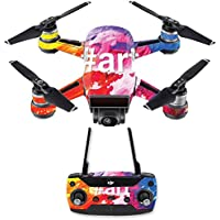 Skin for DJI Spark Mini Drone Combo - Art  MightySkins Protective, Durable, and Unique Vinyl Decal wrap cover   Easy To Apply, Remove, and Change Styles   Made in the USA