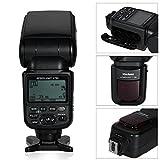fitTek Voeloon V760 i-TTL Backlit LCD Screen Display *High-Speed Sync* Camera Master/Slave 5600K Flash Speedlite Speedlight with Flash Diffuser for Nikon D3000; D5000; D3100; D5100; D7000; D50; D60; D70; D70S; D80; D90; D200; D300; D300S; D700; D3S;