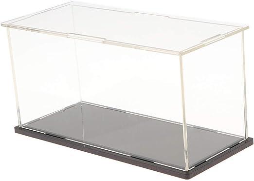 Sharplace Vítrina de Acrílico Transparente Caja de Exhibición ...