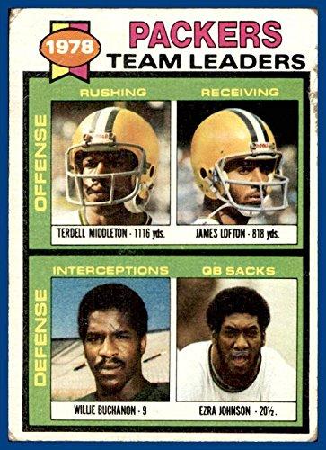 1979 Topps #407 Green Bay Packers Terdell Middleton