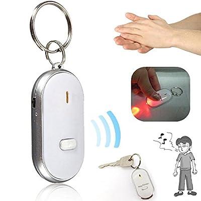 Cewaal Key Finder Tracker Localizador de artículos RF inalámbricos Control remoto Con batería de larga vida reemplazable