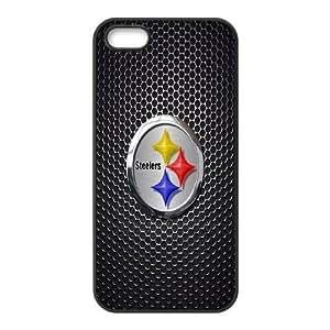 iPhone 5,5S Phone Case Black pittsburgh steelers JFL249423