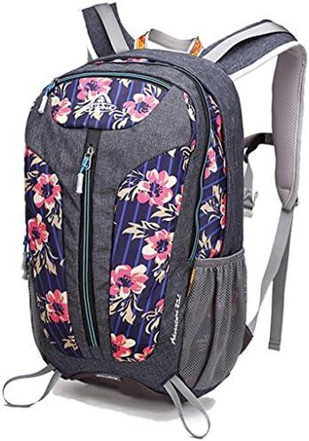 アウトドアリュックサック多機能な登山バッグ男性と女性のスポーツハイキングアウトドア旅行袋25L旅行ショルダーバッグ ( 色 : Flowers pink )
