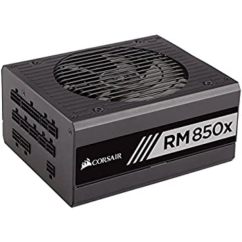 Corsair RMx Series, RM850x, 850W, Fully Modular Power Supply, 80+ Gold Certified