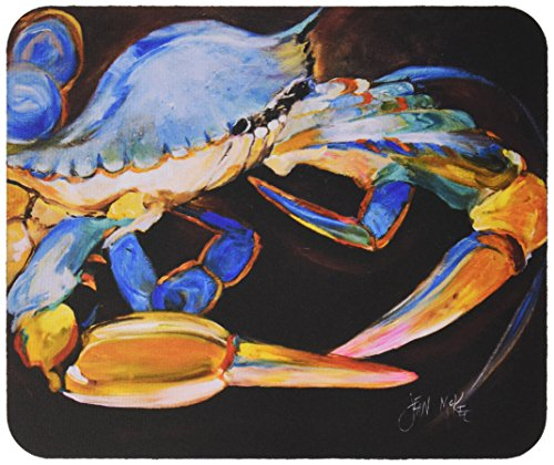 carolines-treasures-blue-crab-mouse-pad-hot-pad-trivet-jmk1090mp