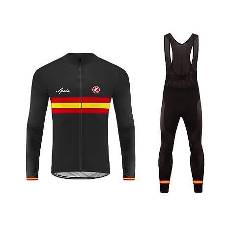 Uglyfrog Ciclismo Hombres Bicicleta Jersey Invierno Montar Transpirable Ciclo Chaqueta Ropa Bici Camisas+Pantalones Set