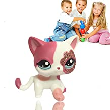 New Lovely Designer 1pcs Littlest Pet Shop Cute Cat Dog Animal Figures Collection For Child Kid Toy