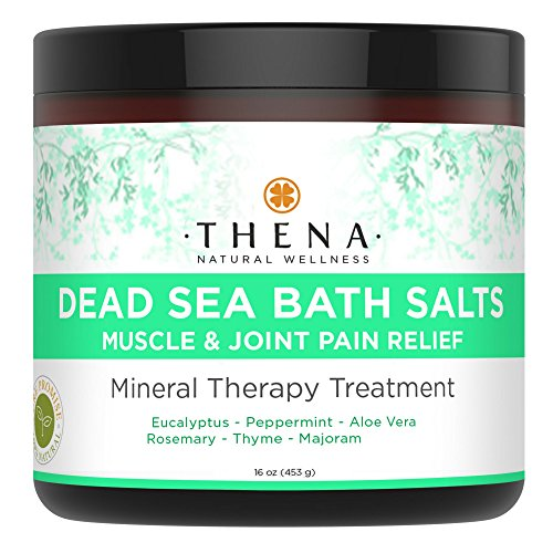 Organic Joint & Muscle Relief Soak, Natural Arthritis Remedies With Stress Relieve Essential Oils, Best Spa Bath Sea Salts Product For Relaxation, Soothe Back Neck Shoulder Pain Aches Tension