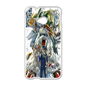Personal Phone Case Digital Monster For HTC One M7 LJS2349