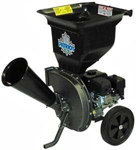 Patriot CSV-2540B 4 hp Gas Wood Chipper Leaf Shredder