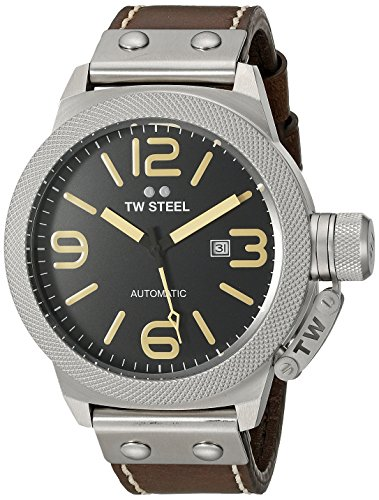 TW Steel Men's CS36 Analog Display Quartz Brown Watch