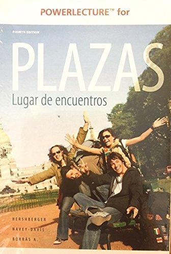 Download Power Lecture for Plazas Lugar de encuentros ISBN# 111134373x CD pdf