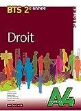 Les Nouveaux A4 Droit 2e année BTS 3e édition by Pascale Liochon (2014-04-30)
