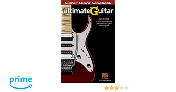 Amazon.com: Ultimate-Guitar Chord Songbook (0884088616328): Hal ...