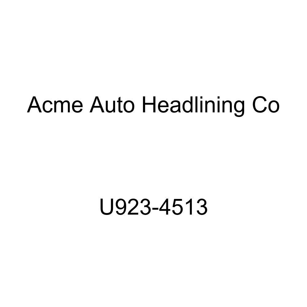 Acme U923-4513 Front and Rear Dark Green Vinyl Bench Seat Upholstery