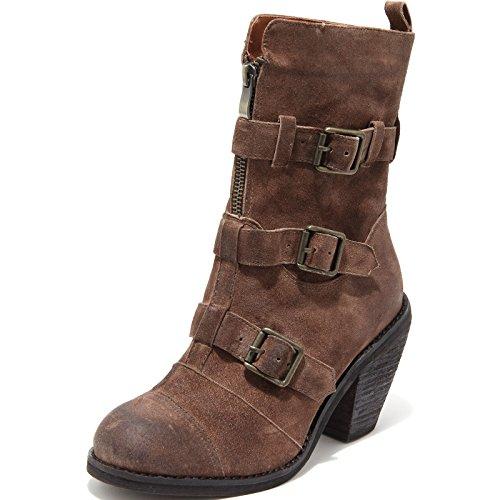 6647H stivali donna JEFFREY CAMPBELL piedmont scarpe boots shoes women Marrone