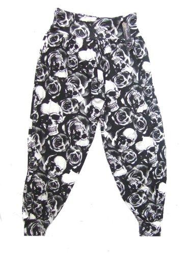 Sarouels 48 Dangerousfx Femme Pantalons Noir Taille 46 PTFASwq