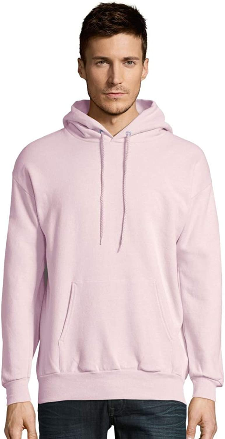 Hanes 7.8 oz. 50/50 Pullover Hood (P170) at  Men's Clothing store