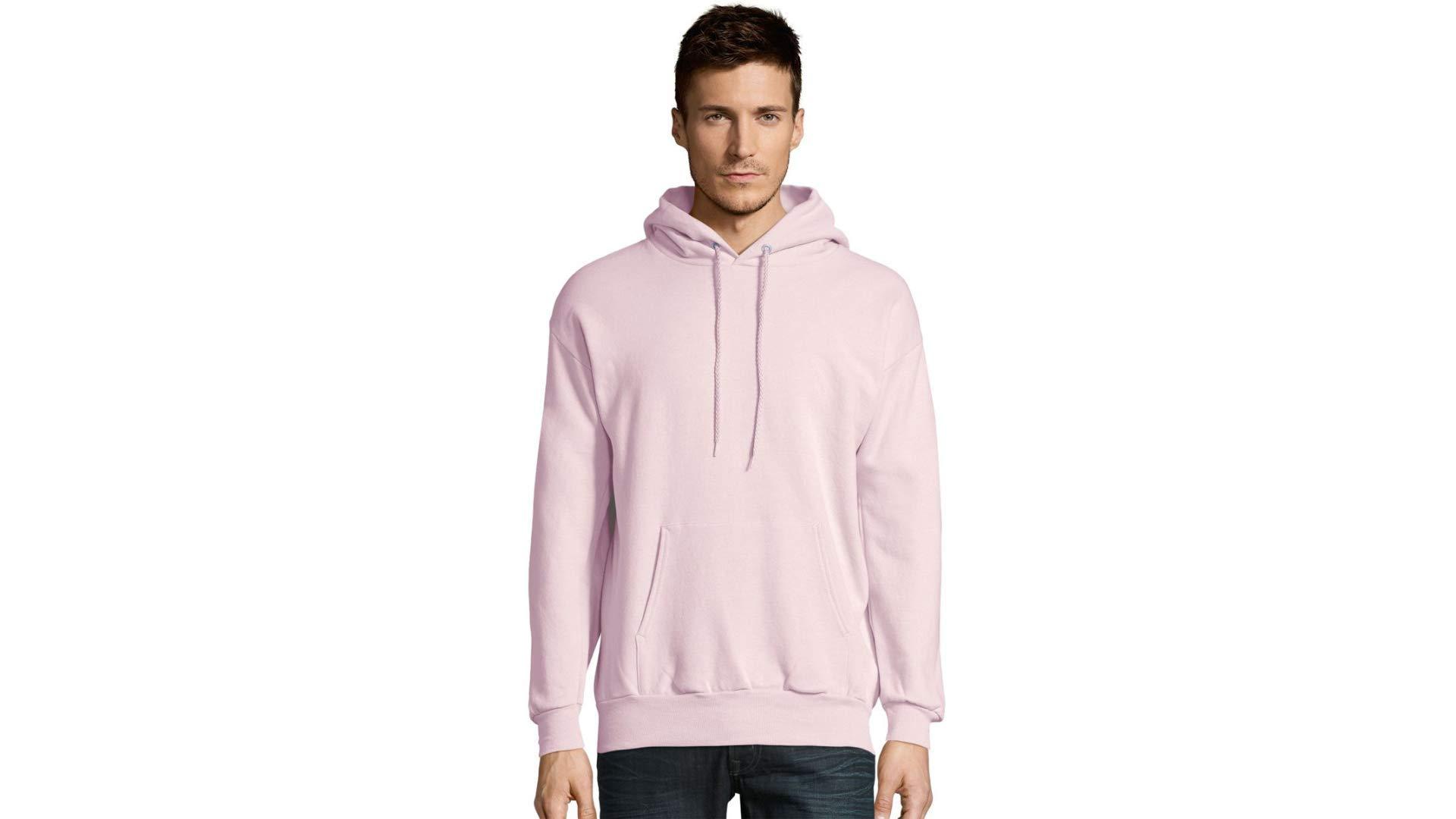 Fashion Shopping Hanes Men's Pullover Eco-Smart Fleece Hooded Sweatshirt