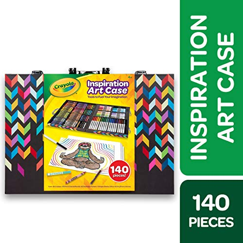 Halloween Art For 4th Graders (Crayola Inspiration Art Case Coloring Set, Gift for Kids Age)