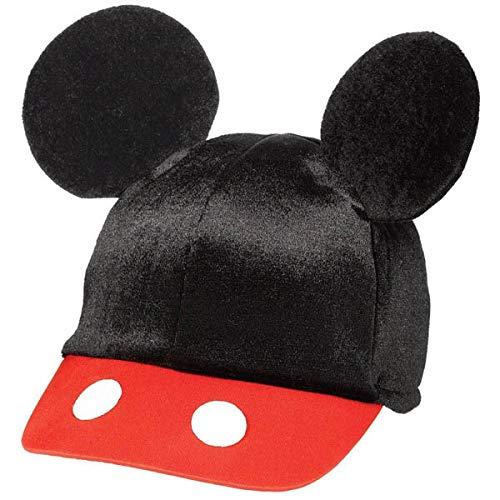 8662109c2878c Amscan DisneyMickey Mouse Birthday Party Mickey's Ear Baseball Hat  Accessory, 5 5/8'