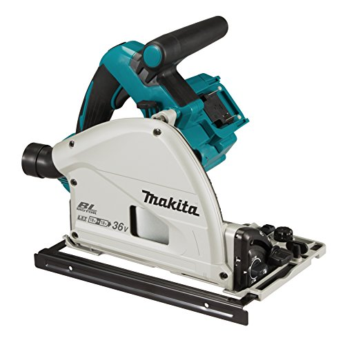 Makita DSP601ZJU (36V) Twin 18V Li-ion LXT Brushless 165mm Plunge Cut Saw Supplied in a Makpac Case - Batteries and Charger Not Included