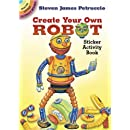 Dover Publications-Create Your Own Robot Stickers