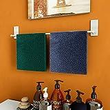 LuckIn Self Adhesive Towel Rod 24 Inch Towel Bar